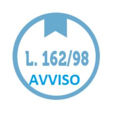 PIANI PERSONALIZZATI LEGGE 162/98. AVVISO IMPORTANTE