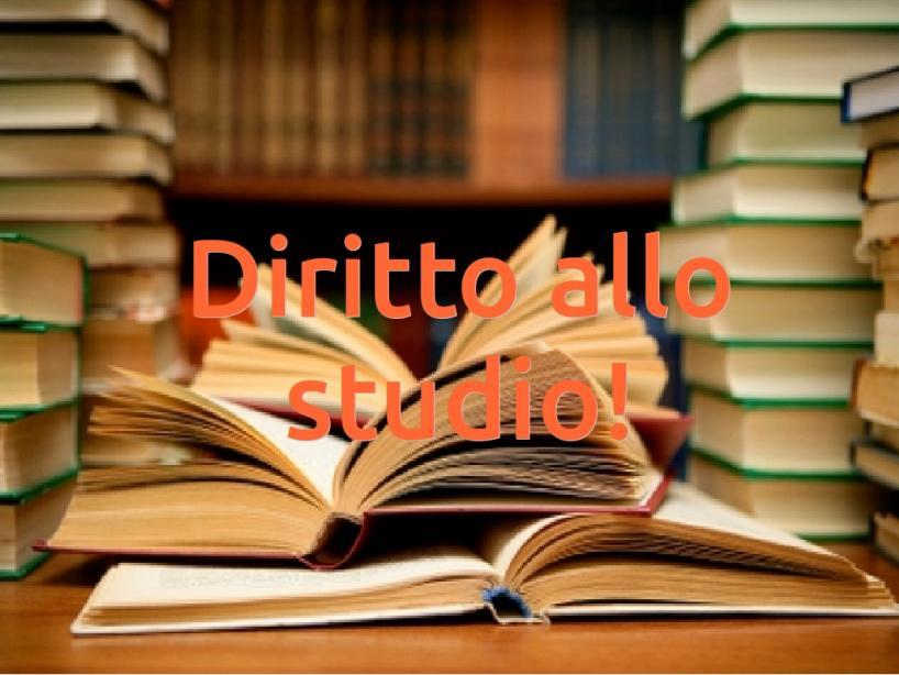 DIRITTO ALLO STUDIO 2020/2021