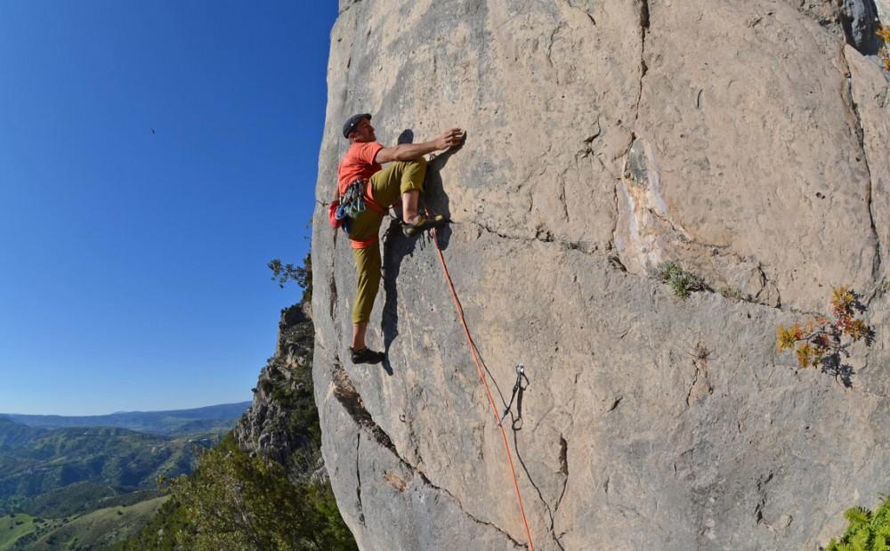 Arrampicata Sportiva sul Monte Albo