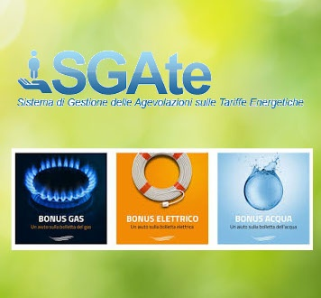 Bonus Sociale  Energia Elettrica Gas e Idrico