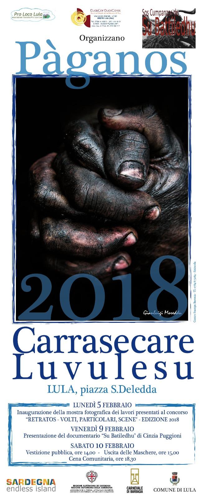 PÀGANOS – CARRASECARE LUVULESU 2018