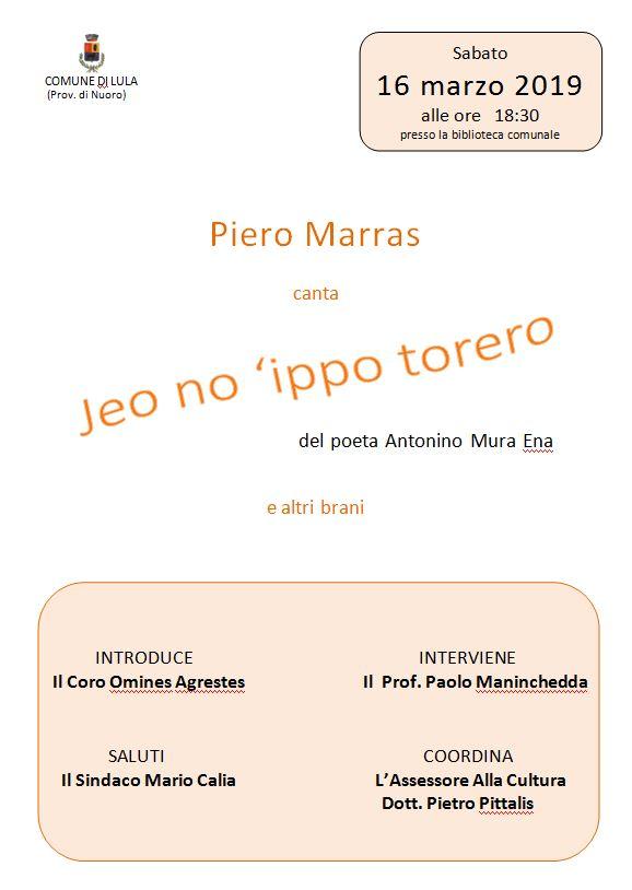 PIERO MARRAS A LULA