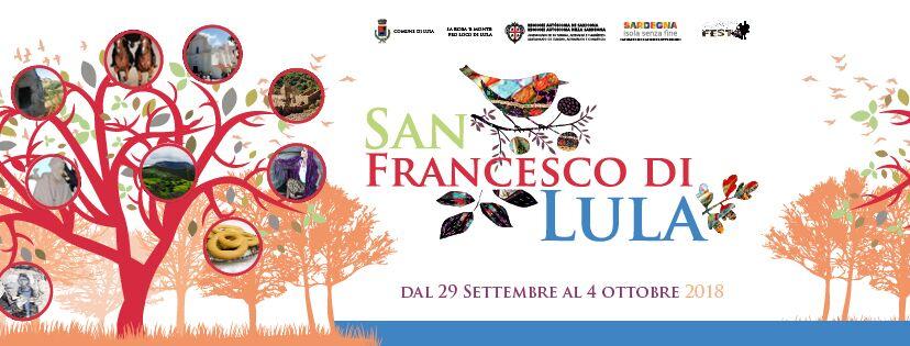 FESTA SAN FRANCESCO DI LULA - PROGRAMMA