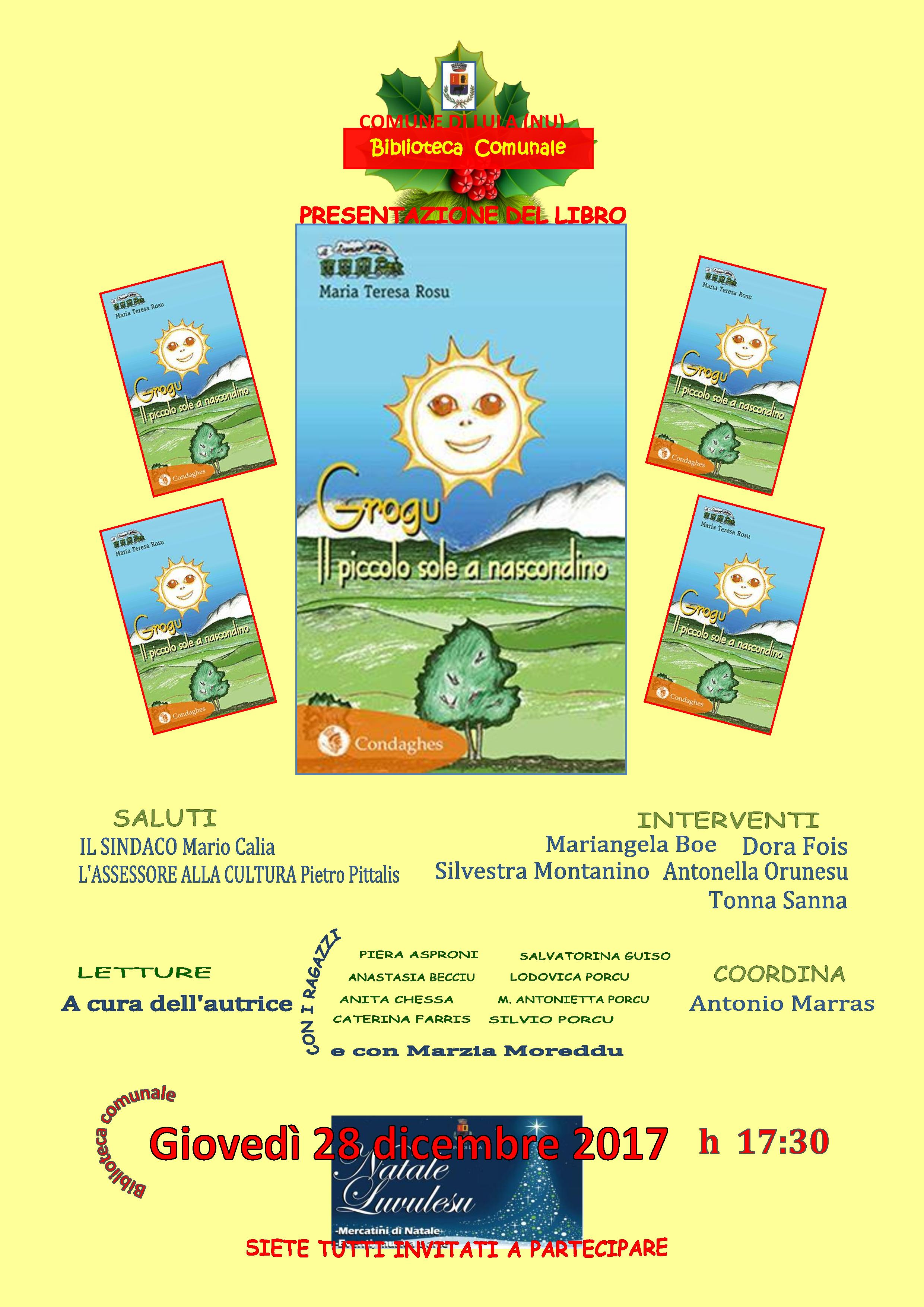 Presentazione del libro 'Grogu. Il piccolo sole a nascondino'